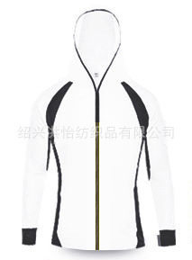 Open shirt breathable cool absorption sweat quick dry fishing suit night fishing anti-mosquito fishi White spell dark gray m