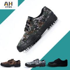 Factory wholesale genuine jungle woodland digital camouflage training shoes labor protection liberat Desert camouflage 38