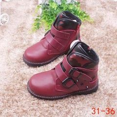 Spring 2018 new children`s sneaker manufacturer direct selling boys` net shoes girls little red shoe 7128 wine red Look at the picture code segment
