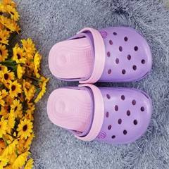 2018 new summer garden shoes men`s and women`s cave shoes soft breathable leisure beach shoes wholes purple 38