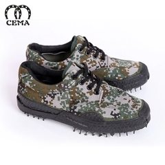 Horse digital jungle training shoes to liberate camouflage students military training special shoes  Woodland digital low help training shoes 35