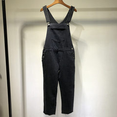 The new black work-wear suspenders for spring and autumn, 2018 black m