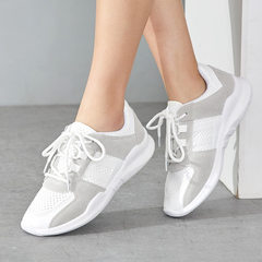 Manufacturer direct sale wholesale 2018 spring new big code cloth hot style women`s shoes running br white 35