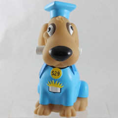 2018 dog year PVC material piggy bank piggy bank 7.5 * 12.5 * 17