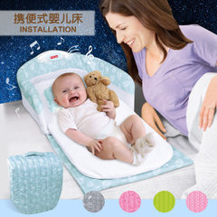 Portable playbed - folding playbed - folding playbed - folding travel bed - BB baby bed 66501