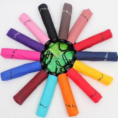 工厂定制促销广告礼品雨伞三折伞直杆伞高尔夫伞黑胶伞 三折九合版
