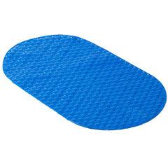 Water ball anti-skid cushion bathroom shower room foot cushion plastic bath mat bathroom manufacture blue 39 * 69 cm