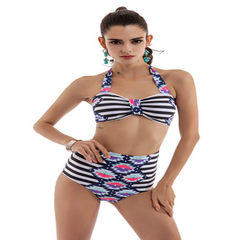 YANSHUO 2018 new style printed swimsuit bikini manufacturers direct wholesale The picture color s.
