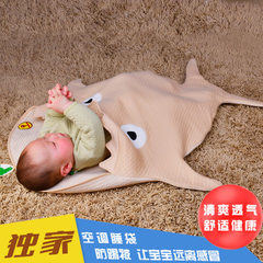 Baby home sleeping bag kicked by baby sleeping bag baby sleeping bag baby sleeping bag air condition Egg khaki Wide 59 cm * 85 cm high