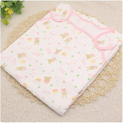 [clearance] pure cotton six-layer gauze baby sleeping bag for children is suitable for 93*46 for the Pattern is random 96 * 46 cm