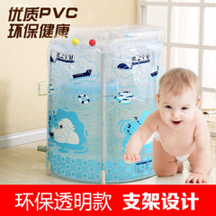 Baby swimming pool manufacturer wholesale transparent bracket swimming pool baby swimming pool brack white 80 * 75