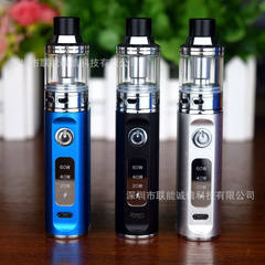 Wholesale 60W big smoke electronic cigarettes new vapor quit smoking electronic cigarettes set big s black 60W gift box set