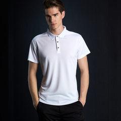 Advertising shirt polo cultural shirt customized lapel T-shirt short-sleeve sports fast dry enterpri white s.