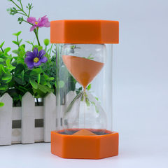 Factory direct sale wholesale children crystal hourglass creative safety timer students gifts exquis 8.4 * 16 cm