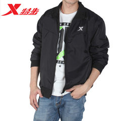 Special price running men jacket slim jacket spring and autumn trim business casual sportswear coat  Special 502: black s.