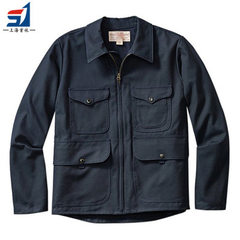 Shanghai custom - made high - quality jacket working clothes, European and American fashion factory  khaki xs