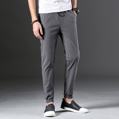 New casual trousers for men beach trousers for men gray 31
