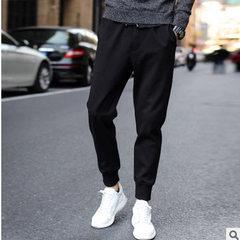 Sport pants men`s skinny, skinny, leggings, leggings, fall casual pants, long pants, long pants, har gray m