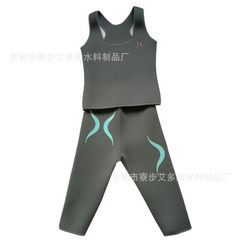 Neoprene surfboard suit diving material surfboard suit black All code