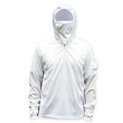 Sun-protective clothing fishing clothes fishing clothes fishing gear fishing clothes fishing gear fi white l