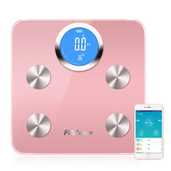 Manufacturers directly sell the new intelligent bluetooth body fat scale home weight scale health pr Rose gold
