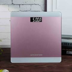 Yongkang factory direct selling vishang new products weight scale rose gold electronic said that the Rose gold