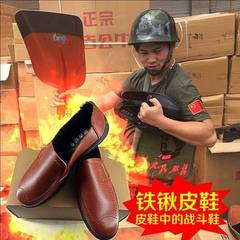 Mongolian men`s leather shoes market hot men`s shoes authentic Mongolian bull casual shoes wholesale A variety of All code