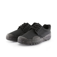 Factory direct sale low help labor protection wear-resisting work shoes labyrinth color rubber shoes black 36