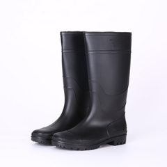 Manufacturer direct selling classic style rain shoes at low price and high quality men`s rain shoes  black 38