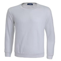 500 grams of fleece, round neck, custom working class uniform, fleece and thickening, custom LOGO white xl