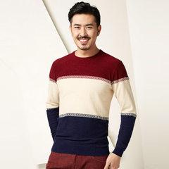 Goldberg knitwear men`s comfort sweater in autumn/winter 2017, new wide stripe, patchwork men`s wear HNZAD3N175A 175/92 a (50)