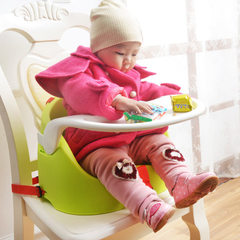 Babies eat chair of the portable multifunctional baby chair children eat chair seat 502 blackish green chair