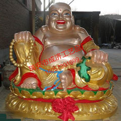 Manufacturers wholesale temple dedicated Buddha bronze Buddha small Buddha maitreya can be customize custom