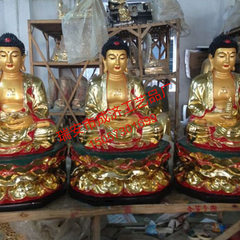 Manufacturers direct selling temple dedicated statue of Buddha copper Buddha small Buddha pharmacist custom