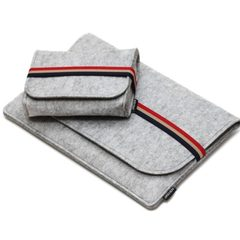 Manufacturers direct selling Korean version of the fashionable simple tablet computer blanket blanke Dark grey 11