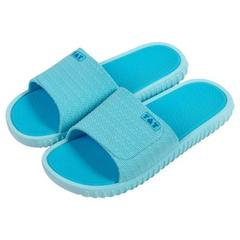Slippers household indoor anti-skid slippers lovers bath slippers portable simple fashion manufactur blue 37