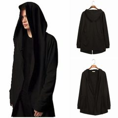 2017 foreign trade ebay hot style price cut spring men`s assassin`s creed cape caped cape caped cloa black m