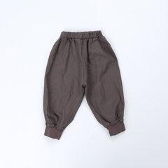GDKIDS2018 spring new Korean children`s wear children`s casual harem pants children`s casual harem p gray 80 cm