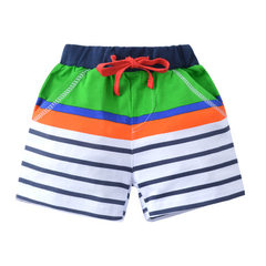 Spring and summer children`s shorts, european-style men`s and girls` casual pants, children`s pure c 6025 2t. 3t. 4t. 5t. 6t. 7T(6 pieces for 1 hand)