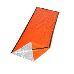 户外野营应急  急救睡袋  轻便隔热保温救生睡袋 PE 橙色 橙色 210*130