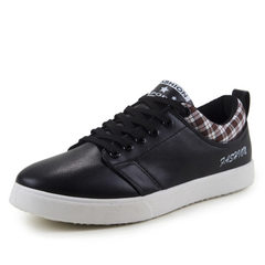 New style men`s casual shoes in spring, Korean shoes, Korean shoes, sports shoes, student shoes, men 812 black 39