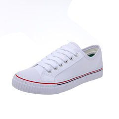 2018 shenma summer autumn classic canvas shoes female Korean version of fashionable small white shoe white 35