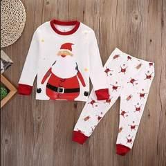 Kangkang 2018 amazon children`s autumn clothes autumn trousers cotton suit children`s underwear home Graph coloring 2