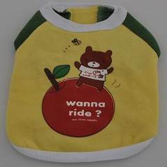 Pet dog clothes apple dress bear spring coat dog T-shirt baume teddy VIP chihuahua clothes s.