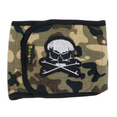 Factory direct pet courtesy pet safety hygiene pants physical pants teddy hair underwear pet supplie Camouflage skeleton S 28-32 cm