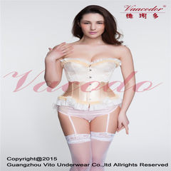 Spring/summer 2016 high grade steel bone corset clothes court corset clothes corset body corset clot golden s.