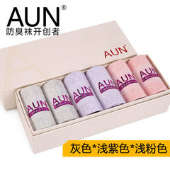 AUN anti-odor socks women thin style cotton stockings women cotton socks cotton absorbent sports soc Mixed color 6 pairs All code