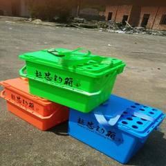 超忠钓鱼桶正品厂家特价批发多功能带盖可坐钓鱼桶登台钓箱垂钓椅 47.5*31*31