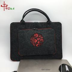 Manufacturers customized new innovative apple notebook felt-felt laptop logo on a large number of pr blue 11
