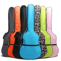 [manufacturer direct selling] 41-inch guitar package wholesale folk song thickened guitar backpack g black